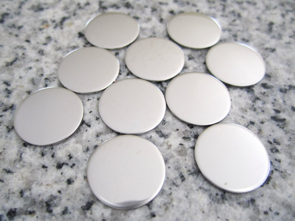StampingBlanks com - 1/2'' Round Disc Stamping Blank