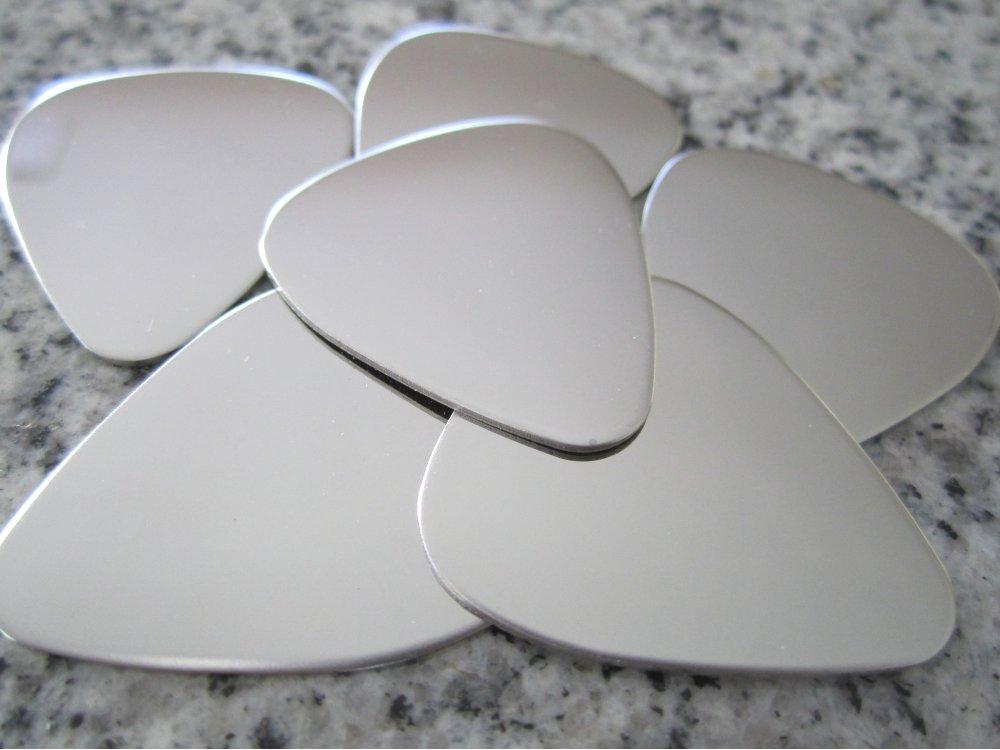 1 X 4 Guitar Pick Stamping Blank